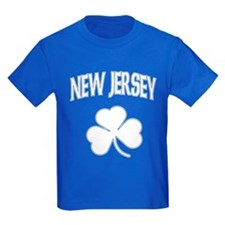 New Jersey Irish Shamrock T