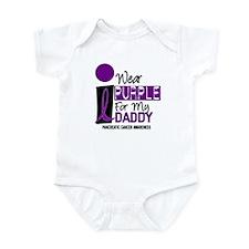 I Wear Purple For My Daddy 9 PC Onesie