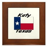 Katy Texas Framed Tile