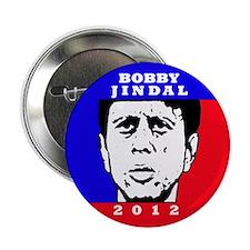 """Bobby Jindal 2012 2.25"""" Button"""