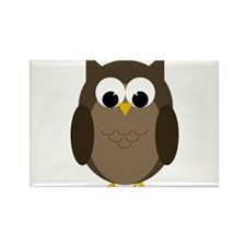 Cool Owl Rectangle Magnet