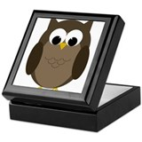 Unique Owl Keepsake Box