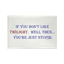Twilight,Stupid Rectangle Magnet