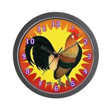 Rise And Shine Bantam Wall Clock