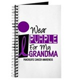 I Wear Purple For My Grandma 9 PC Journal