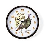 Got Turkey! Wall Clock