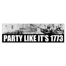 1773 Tea Party Bumper Bumper Sticker