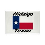Hidalgo Texas Rectangle Magnet (10 pack)
