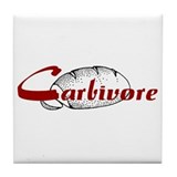 Carbivore Tile Coaster