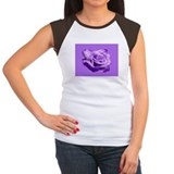 Rose Purple Tee