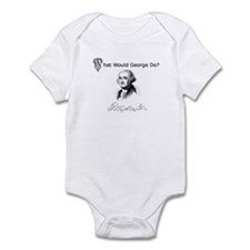"""""""What Would George Do"""" Infant Bodysuit"""