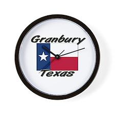 Granbury Texas Wall Clock