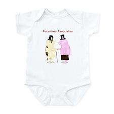 Pecuniary Associates Piggy Banks Infant Bodysuit