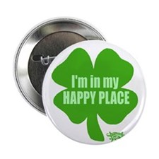 """I'm In My Happy Place 2.25"""" Button"""