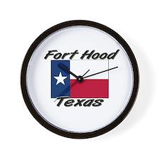 Fort Hood Texas Wall Clock