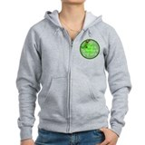 Stocking Discs Christmas Zip Hoodie