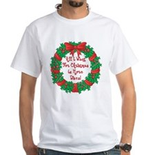 Wreath Disc Golf Christmas Shirt