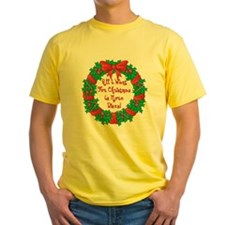 Wreath Disc Golf Christmas T