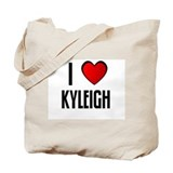 I LOVE KYLEIGH Tote Bag