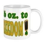 16 oz to Freedom Mug