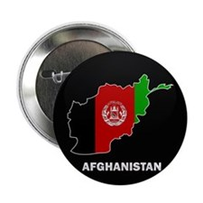 "Flag Map of Afghanistan 2.25"" Button (100 pack)"