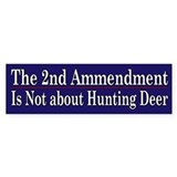2nd Ammendment Humor - Bumper Stickers