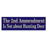 2nd Ammendment Humor - Car Sticker