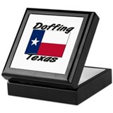 Doffing Texas Keepsake Box