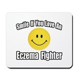 """Love an Eczema Fighter"" Mousepad"