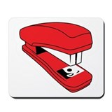 Red Stapler Mousepad