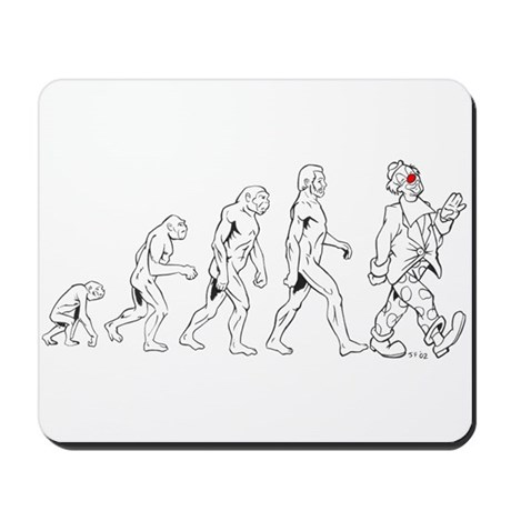 Clown Evolution Mousepad