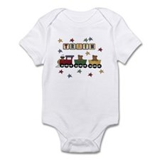 Train with Bears Infant Bodysuit