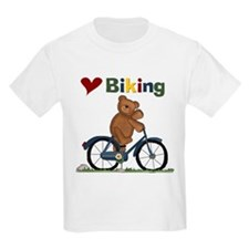 Love Biking Blue Bike T-Shirt