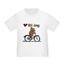 Love Biking Blue Bike T