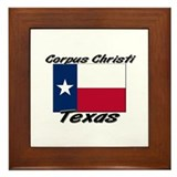 Corpus Christi Texas Framed Tile