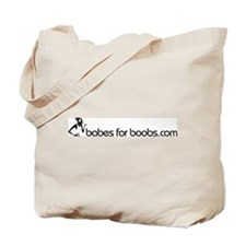 Babes for Boobs Tote Bag