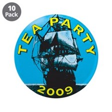 "Tea Party 2009 3.5"" Button (10 pack)"