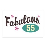 Fabulous 55 Postcards (Package of 8)