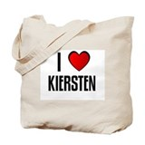 I LOVE KIERSTEN Tote Bag