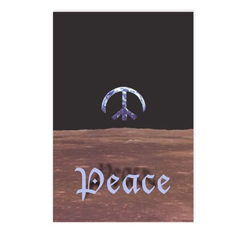 Peace on Earth Holiday Postcards (Package o