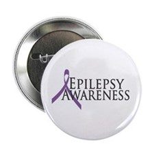 "Epilepsy Awareness Ribbon 2.25"" Button (10 pack)"