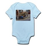 san fran trolley Infant Bodysuit
