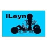 iLeyn Rectangle Decal