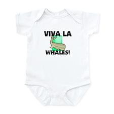 Viva La Whales Infant Bodysuit