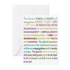UU Principles Greeting Cards (Pk of 10)