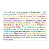UU Principles Postcards (Package of 8)