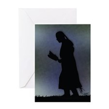 Evening Prayer - Greeting Card