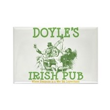 Doyle's Vintage Irish Pub Personalized Rectangle M