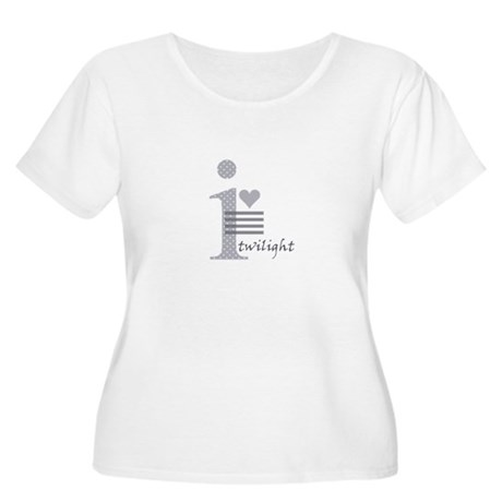 i heart twilight Women's Plus Size Scoop Neck T-Sh