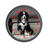 Wall Clock- Bovaro del Bernese